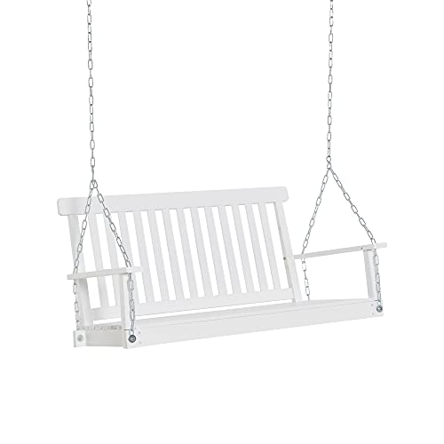 Outsunny 2-Seater Outdoor Patio Porch Swing Chair...