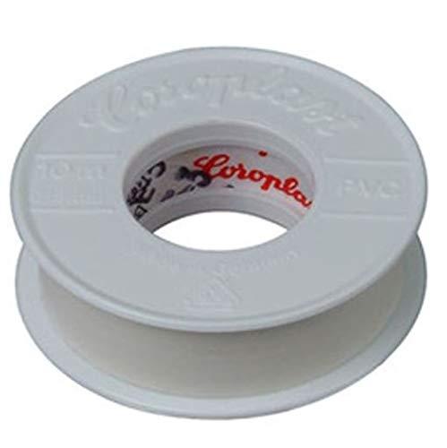 Kopp 320701081 Isolierband, 10 m lang, 15 mm breit, weiß