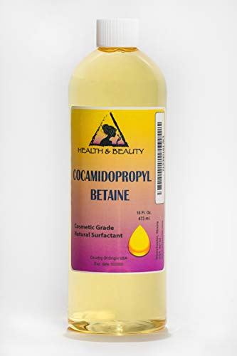 Cocamidopropyl Betaine Coco Betaine CAPB Natural Surfactant Liquid Premium Highest Purity 100% Pure 16 oz