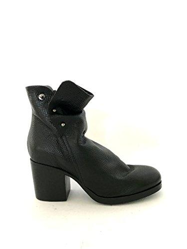LiliMill Damen Stiefel & Stiefeletten, Schwarz - schwarz - Größe: 39