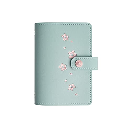 ZAZA Cuaderno Diario Cuaderno De Hojas Sueltas Diario Portátil Simple Y Moderno Plan Multifuncional Cuaderno De Bolsillo Papelería Regalo Cuadernos para Mujeres (Color : I)