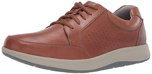 Clarks Men's Shoda Walk Waterproof Sneaker, Tan Leather, 115 M US