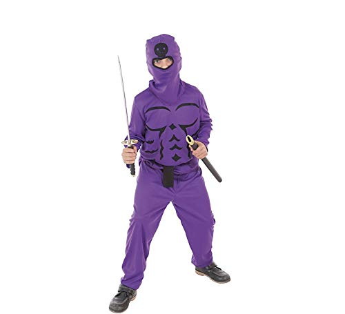 LLOPIS - Disfraz Infantil Ninja Lila t-l