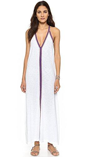 Pitusa Women's Pima Sundress, White, One Size