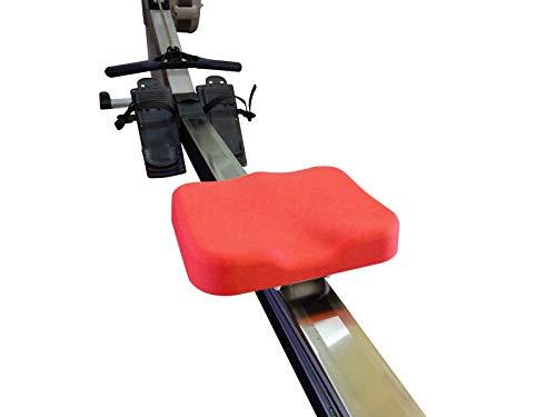 Funda de asiento de silicona para máquina de remo modelo D y modelo E (rojo)
