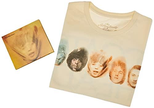 The Rolling Stones CD Duplo + Camiseta Goats Head Soup Band Members Amarela