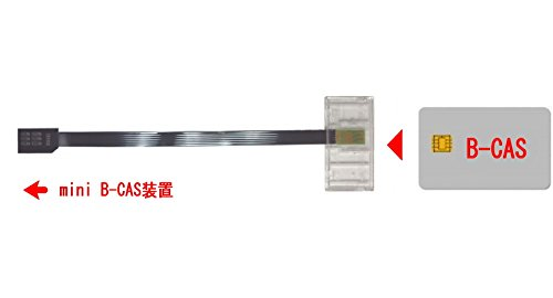 『P-busters PB-MA01 mini B-CAS 変換アダプター B-CAS to mini B-CAS Aタイプ』の1枚目の画像