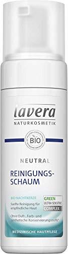 Lavera Reinigungsschaum Neutra mitl Bio-Nachtkerze 3er Pack (3 x 150ml)