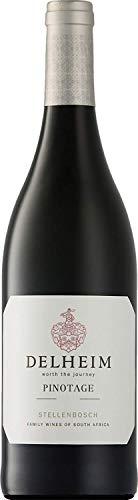 Delheim Pinotage Stellenbosch Rotwein südafrikanischer Wein trocken Südafrika (6 Flaschen)