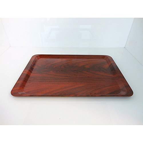 Fimel in plastica Laminata.Colore Marrone Mogano.Dimensioni 53x37 cm