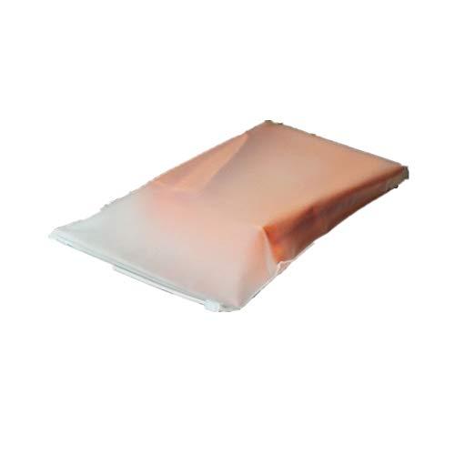 CYGGL 100 unids/Lote 17 cm * 25 cm * 200 Mic Ropa Zip Lock Bolsa de plástico Bolsa resellable Transparente Bolsa de Sellado automático al por Mayor