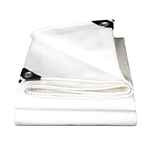 hsj WYQ - Tela impermeable para toldo de tela para exteriores, protección solar, parasol de plástico, resistente a la lluvia, no tóxico (tamaño: 3 m x 4 m)