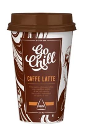 Caffe Delta Latte Go Chill 230 mL - 10 Und