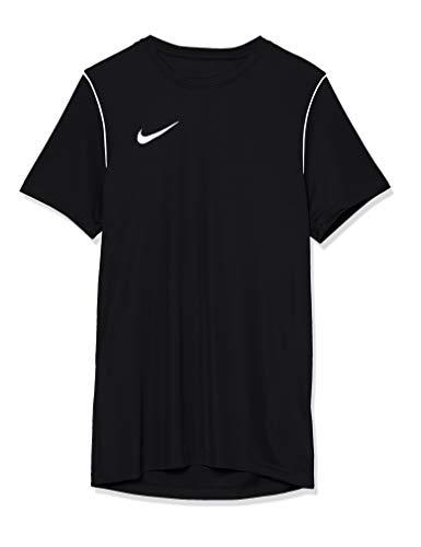 Nike Park 20, Maglia Manica Corta Uomo, Nero/Bianco/Bianco, 2XL
