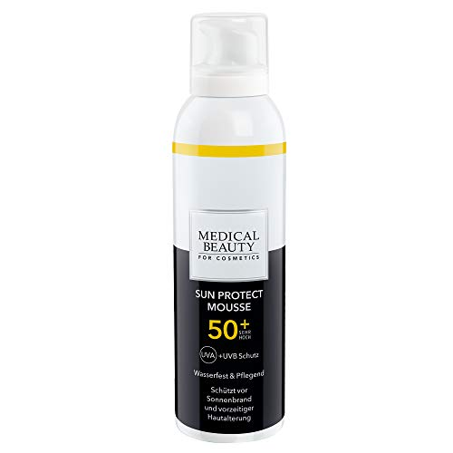 Medical Beauty for Cosmetics Sun Protect Mousse 50+ | Intensive Sonnenschutzpflege mit LSF 50+ | Inhalt: 150 ml