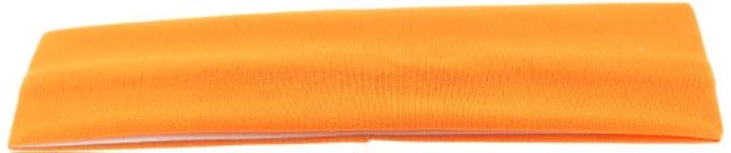 Trimweaver 10-Piece Lycra Stretch Fabric Headband for Craft, 50mm, Tangerine