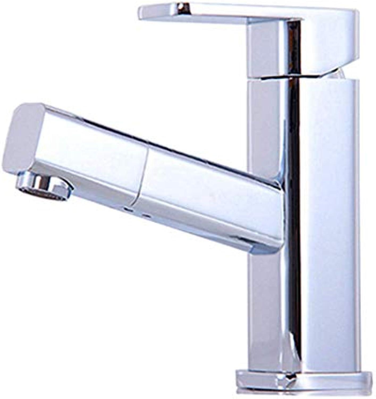 Wasserhahn Küchenarmatur Tapstainless Steelkitchen Wasserhahn Proall Kupfer Pull Verchromung Becken Wasserhahn Waschbecken Kalt- Und Warmwasserhahn