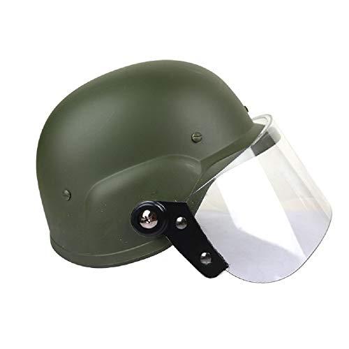 Gocher Tactical SWAT M88 Helm USMC Helm Airsoft Shooting CS Classic Paintball-Schutzhelm mit PC-Schutzbrille-OD