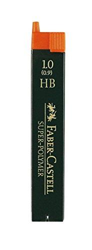 Faber-Castell 120900 - Paquete de 12 minas de 0.9 mm HB