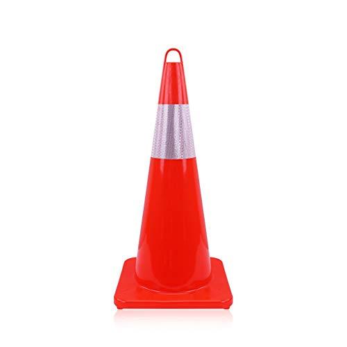 XXW Traffic Cone Reflecterende Veiligheid Cone Parkeerplaats Veel Isolatie Paal Vierkante Cone Outdoor Rubber Tip Facility Waarschuwing Cone Conische Road Sign