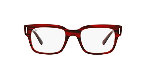 Ray-Ban 0RX5388 Gafas, STRIPED RED, 51 Unisex Adulto