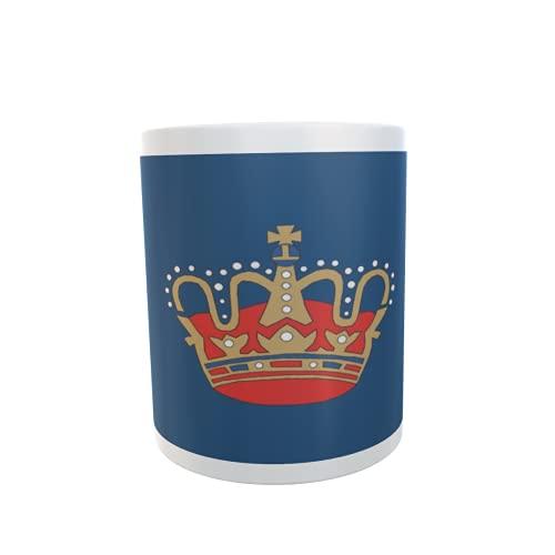 U24 Tasse Kaffeebecher Mug Cup Flagge Fehmarn