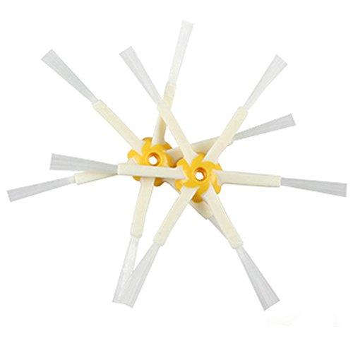 Yiwa Cepillo lateral del cepillo para el pelo hexagonal de 1