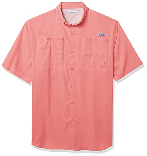Columbia Camisa de Manga Larga Tamiami II para Hombre, Hombre, 1286062, Fucsia, 4X