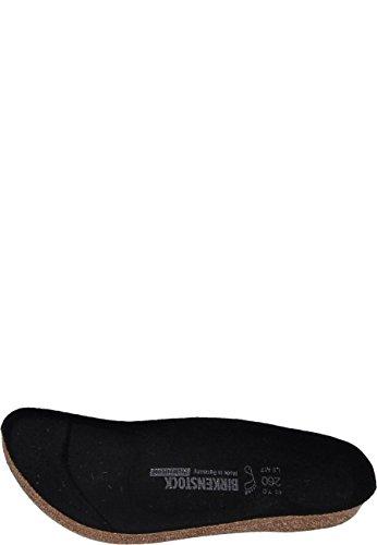 Birkenstock Ersatzfußbett, Suola di Ricambio per Scarpe da Lavoro Clogs Super-Birki, Taglia 37 Unisex-Adulto, Nero, EU