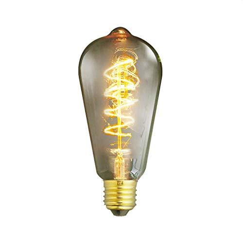 Edison Lichter Kerzen Licht Dekorative Glühbirnen Led Lampen E27 Wrap Wire Edison Glühlampe Birne 40Wac 110V / 220V Für Wohnzimmer Schlafzimmer Decke Zimmer Weihnachten Küche-220V