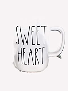 Rae Dunn Artisan Collection by Magenta LL Coffee Mug- Multiple Styles (Sweet Heart)