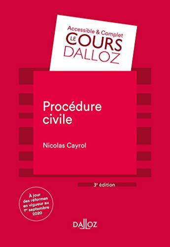 Procédure civile - 3e ed.