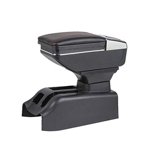 Für Volkswagen Bora Golf 4 Armlehnebox Mittelkonsole mit Aufbewahrungsbox Mittelarmlehne Schwarz