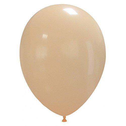 Event Kauf 25-1000 STK. Luftballons Metallic / Standard, Ø ca. 27 cm, Helium (25 Stück, Standard Nr.63: Creme)