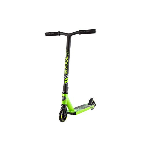 Madd Gear Patinete Carve Rookie 2020 Freestyle Stunt Scooter Patinete Patinete Patinete Patinete Patinete Patinete Patinete Patinete Patinete (Negro/Verde)