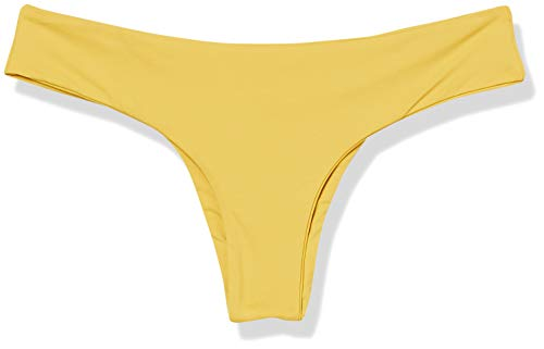 Volcom Women's Simply Seamless Cheeky Bikini Bottom, Sunrise, X-Large