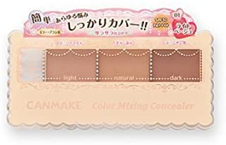 CANMAKE Color Mixing Concealer, 01 Light Beige