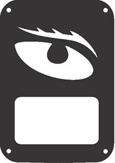 JeepTails Evil Eye - Jeep JK Wrangler Tail Lamp Covers - Black - Set of 2