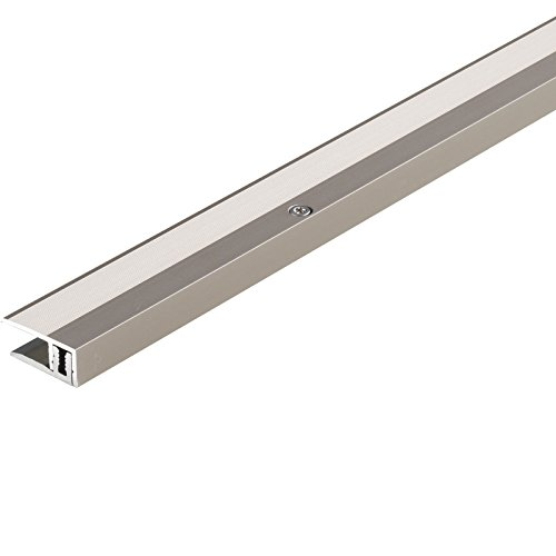 PARADOR Werkzeug Abschlussprofil Aluminium Edelstahl für Parkett Bodenbeläge 8-18 mm