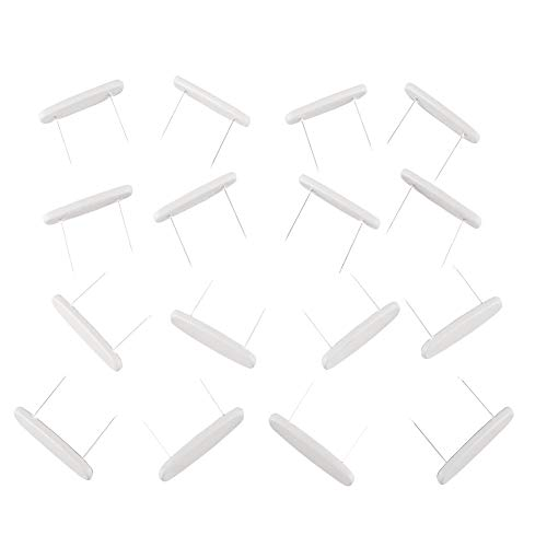 Collections Etc Bed Skirt Holding Pins - Set Of 16,