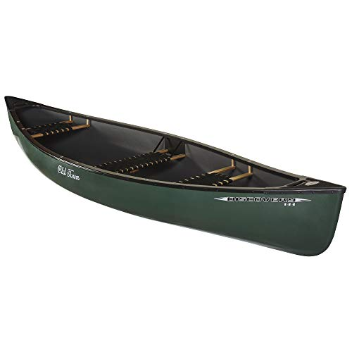 Old Town Discovery 133 Recreational Canoe, Green, 13 Feet 3 Inches