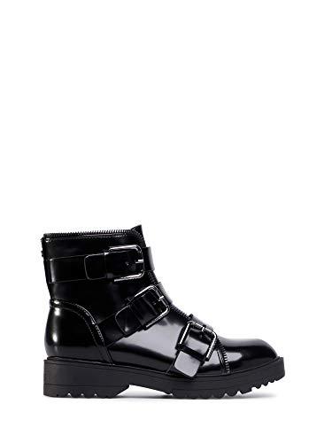 GUESS Bota Militar FL7WENELE10 Black Size 39