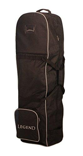LEGEND Golftasche Golf Travelbag Reisetasche mit 2 Rädern