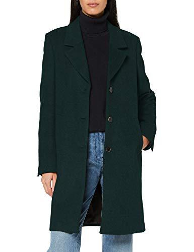 SELECTED FEMME Damen SLFSASJA Wool Coat B NOOS Mantel, Green Gables, 38