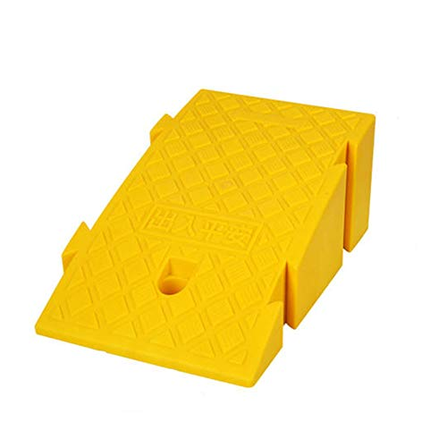 Lill Curb Ramps Rubber Road Heavy Duty Mobility Threshold Ramp,Heavy Duty PVC Non-Slip Ramp,Special Pad On The Slope of The Road,for Car Motorcycle Ramp Sidewalk