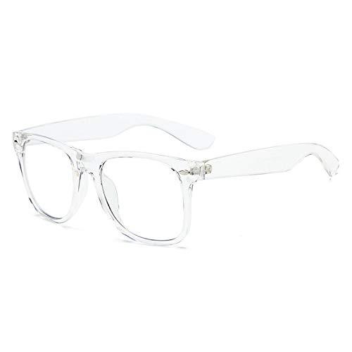 xzczxc Gafas Vintage Anti Rayos de Luz Azul para Mujer Transparentes
