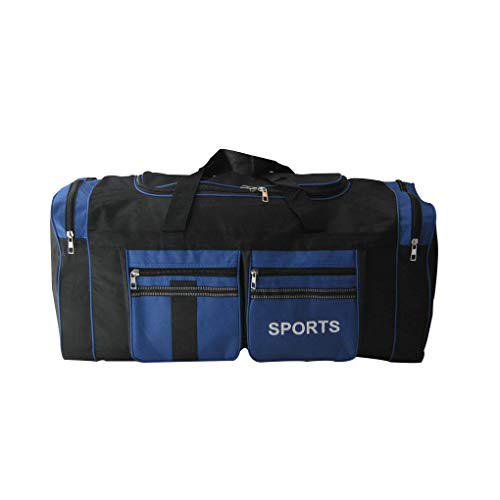 Cdrox Large Capacity Travel Bag Multi Pockets Zipper Gym Fitness Sports Duffel Bag Luggage Pouch