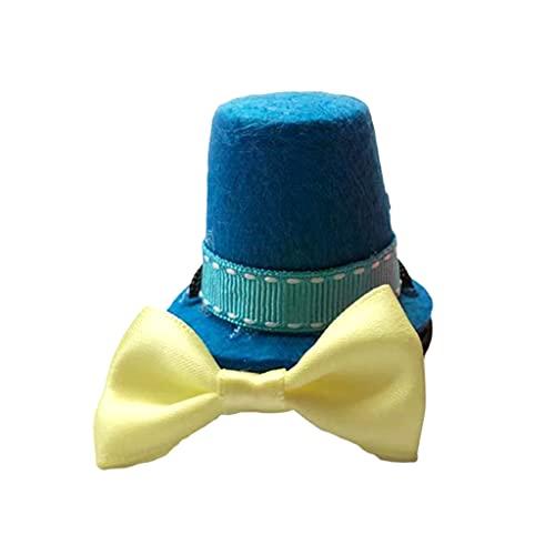 COMEYER Juego de Correa de Lagarto Ajustable arnés de dragón Barbudo 2 Colores Disfraz de Halloween Sombrero y Corbata 3 tamaños Chaleco Suave decoración de ala