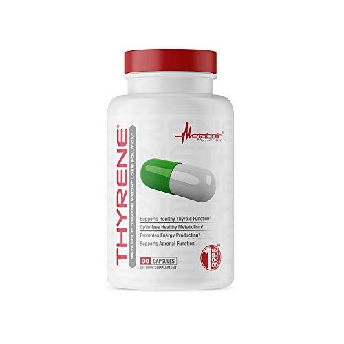 Metabolic Nutrition, Thyrene Weight Loss Supplement, Organic Thyroid...