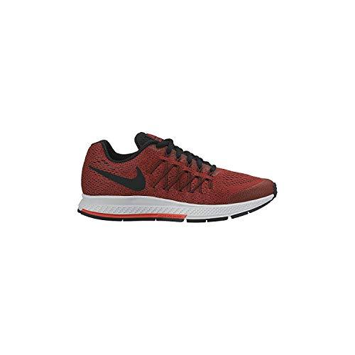 Nike Air Zoom Pegasus 32 - Zapatillas de correr para niño (3,5 a 7 años), color rojo y negro
